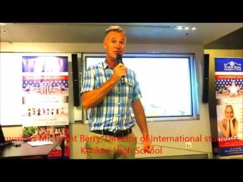 Director of International, Kerikeri High School NZ - Wisdom House Education Channel