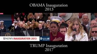 Beyonce Vs Jackie Evancho Singing National Anthem Inauguration 2017
