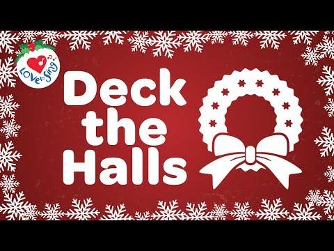 Deck the Halls with Lyrics HD | Christmas Songs and Carols