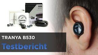 TRANYA B530 - Bluetooth 5.0 InEar Kopfhörer mit sehr geringem Grundrauschen + aptX