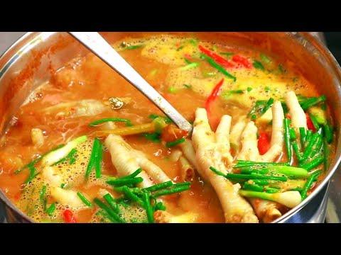 แจกสูตรน้ำยาป่าตีนไก่ สอนแบบละเอียดเอาไปทำขายได้เลย Chicken Feet Curry Recipes