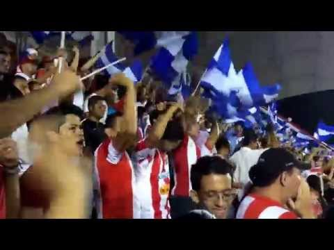 """Real Estelí Vs Saprisa (1-1) Recibimiento"" Barra: Barra Kamikaze • Club: Real Estelí"