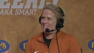 Texas Men's Basketball's Coach Andrea Hudy appears on Longhorn Weekly [Feb. 20, 2020]