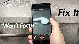 iPhone 6 Camera Autofocus Not Working - How to Fix