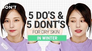 How To Get Healthy Glowing Skin In Winter | Winter Skincare Routine For Dry Skin | Do & Don't