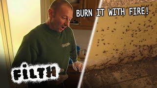 WORST Infestation In Pest Controller Pete's Career  | Grimefighters