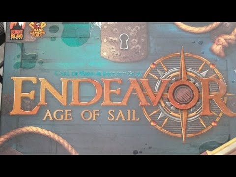 First Impressions of Endeavor Age of Sail at Game A Lot in St. Albert, AB
