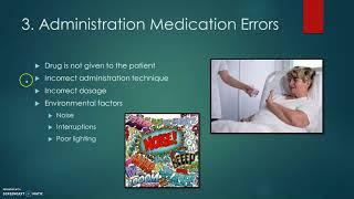 Medication Errors And Nursing