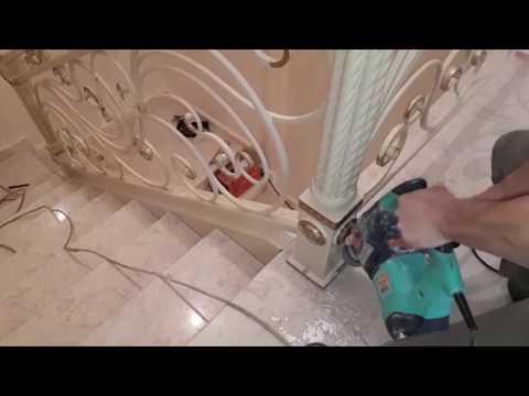 Кованые перила для лестниц, как сделать самому своими руками ВИДЕО №3