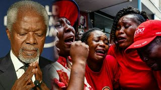 So S.AD, Kofi Annan last Moments.. Pass On at Age 80yrs to Asamando...