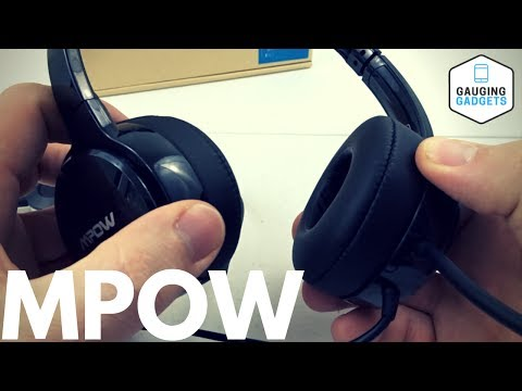 Mpow 071 USB Headset Review - Over Ear Computer Headphones With Mic