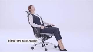 Офисное кресло  Vida V7-X от компании ErgoLife - видео