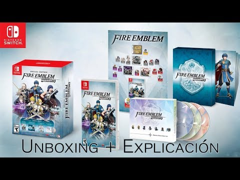 [UNBOXING] Fire Emblem Warriors - Limited Edition + EXPLICACIÓN DE LA SERIE [Nintendo Switch]