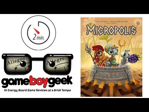 The Game Boy Geek's 2-min (Allegro) Reviews Micropolis