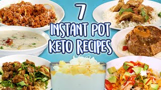 7 Instant Pot Keto Recipes | Low Carb Recipe Super Compilation | Well Done