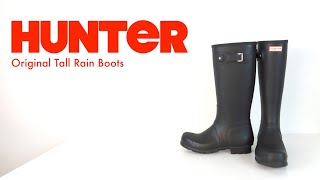 HUNTER BOOTS | Tall Boot | The Boot Guy Reviews