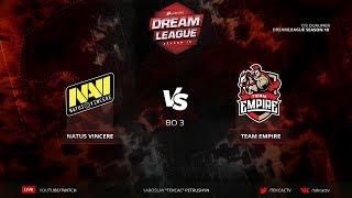 🤠 [RU] Natus Vincere vs Team Empire | Bo3 | DreamLeague Season 10 by @Tekcac | Navi Nation!