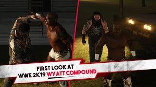 "WWE 2K19 ""Wyatt Compound"" Backstage Brawl Gameplay (Exhibition)"