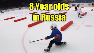 Amazing 7-8 Year Russian Hockey Prodigies