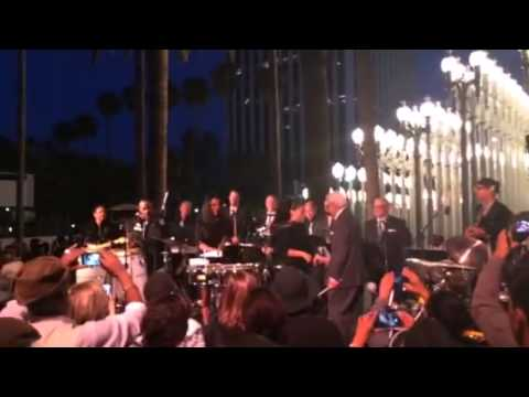 Victor Orlando with The Pete Escovedo Latin Jazz Orchestra The grand finale April 18th 2014 ~LACMA~