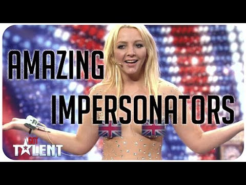 5 hilarious, amazing impersonators from Britain's Got Talent and America's Got Talent