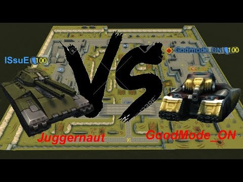 Tanki Online-Juggernaut Vs Goodmode_ON Who The Best? Playing With Juggernaut