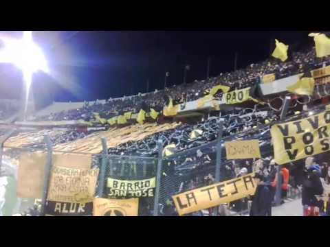 """""""Recibimiento Hinchada De Peñarol vs Palmeiras / Libertadores 2017/ Campeon Del Siglo"""" Barra: Barra Amsterdam • Club: Peñarol"""