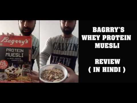 BAGRRY'S WHEY PROTEIN MUESLI HINDI REVIEW  I POSITIVE AND NEGATIVE POINTS I