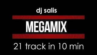 DJ SALIS - MEGA MIX 21 TRAKÓW W 10 MIN - ELECTRO & FIDGET 2016