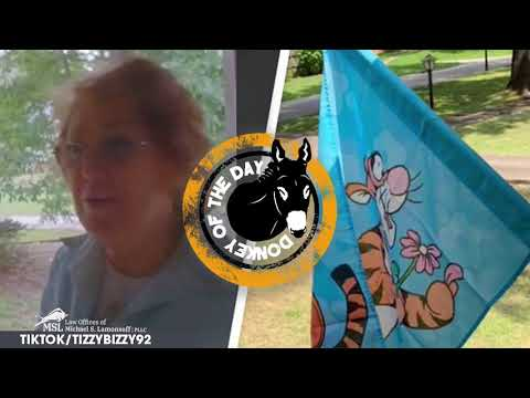 Karen Complains To Black Neighbor About Their Tigger Flag: 'We Have Rules'