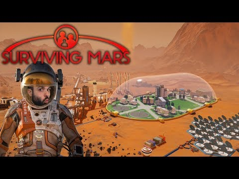 HAY QUE COLONIZAR MARTE | SURVIVING MARS Gameplay Español