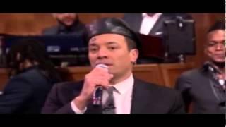 Jimmy Fallon sings like Aaron Neville