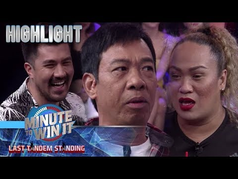 Luis, sinet up  sa isang blind date sina Negi at Long | Minute To Win It