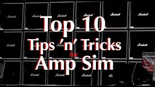 Top 10 Tips 'n' Tricks For Amp Sims (in 5 Min)   Guitar Production
