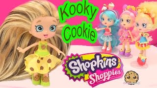 DIY Custom Kooky Cookie SHOPPIES SHOPKINS Doll - How To Craft Do It Yourself Video Cookieswirlc