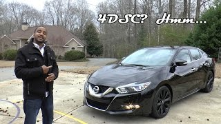 2017 Nissan Maxima SR Midnight Edition Review - 4DSC?  Hmm...