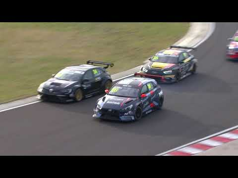 WTCR 第4戦ハンガリー(ハンガロリンク)レース3のハイライト動画