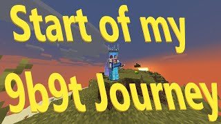 Start of my 9b9t Journey