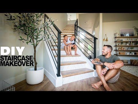 DIY Staircase Makeover