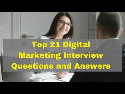 Top 21 Digital Marketing Interview Questions and Answers