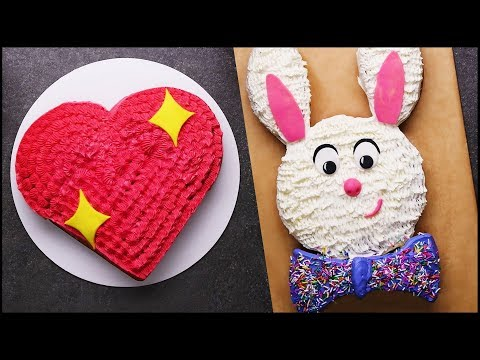 Satisfying Cake Decorating Tutorial | Cake Hacks | DIY Cake Decorating Tips by So Yummy