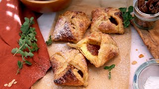 Apple Butter Cheese Danishes