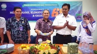 BMKG  Hari Meteorologi Klimatologi Dan Geofisika Ke  69 Tahun 2016
