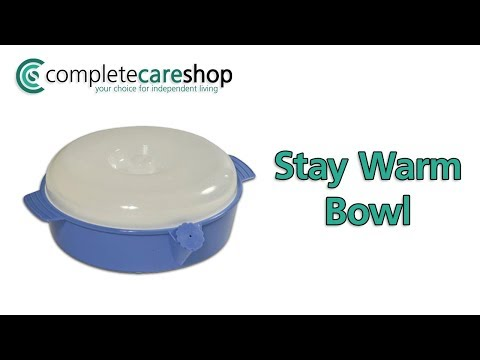Stay Warm Bowl - Keeps Food Warmer Longer