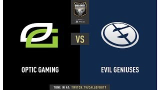 Optic Gaming vs Evil Geniuses | CWL Champs 2019 | Day 2