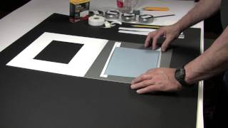 How to make edge strips for mounting artwork and photographs