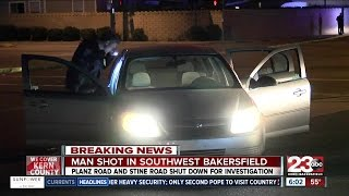Drive-by shooting in southwest Bakersfield leaves one man in critical condition