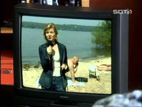老公你上電視了!