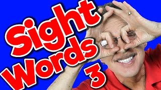 New Sight Words 3 | Sight Words Kindergarten | High Frequency Words | Jump Out Words | Jack Hartmann