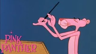 """The Pink Panther in """"Pink, Plunk, Plink"""""""